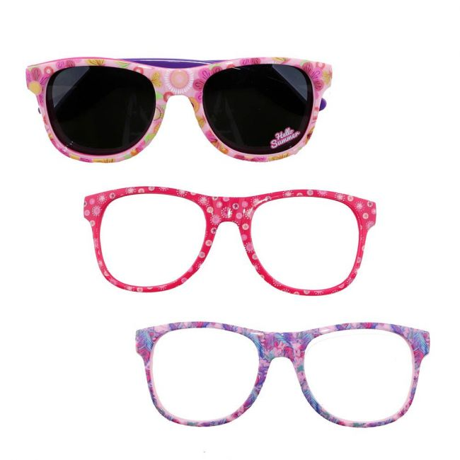 Disney - Minnie Mouse Kids Interchangeable Frame Sunglasses Set
