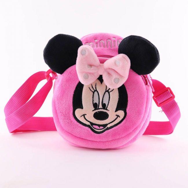 Disney - Minnie Mouse Kids Soft Toys Velvet Children'S Plush Shoulder Bag Rucksack