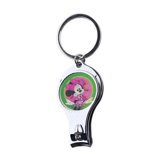 Disney - Minnie Mouse Lenticular Keychain / Nail Cutter