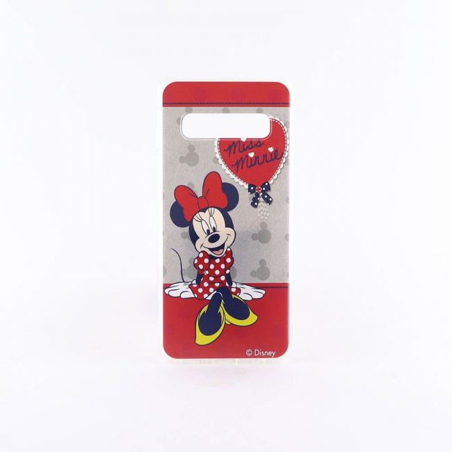 Disney - Minnie Mouse Printed Phone Case For Samsung Galaxy S10