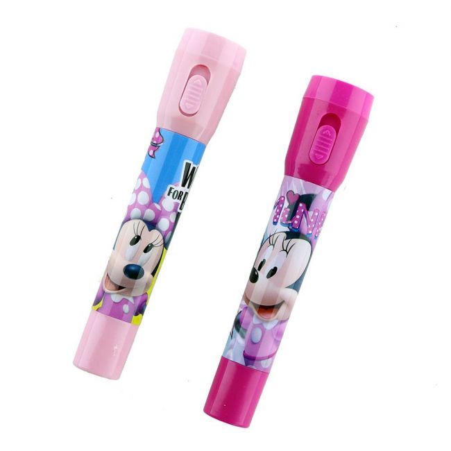 Disney - Minnie Mouse Set Of 2 Pens With Flashlight