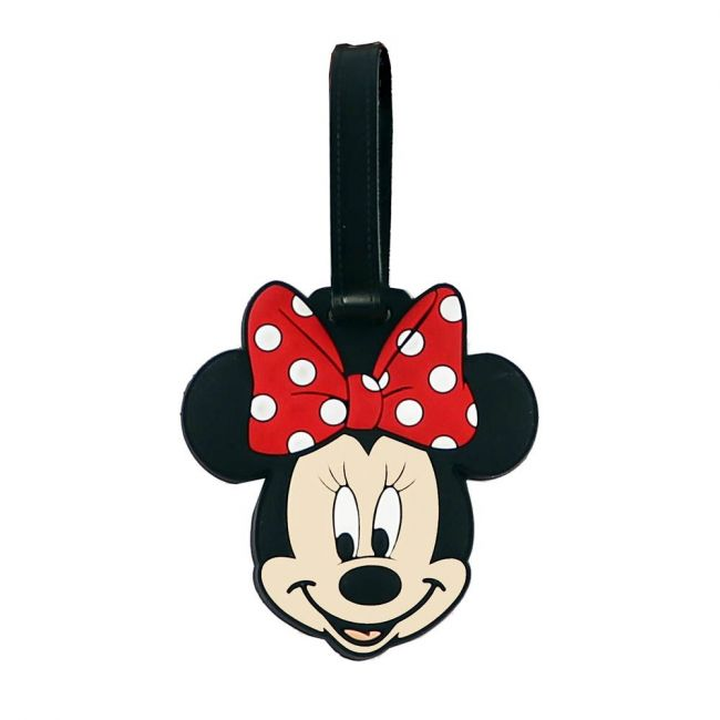 Disney - Minnie Mouse Soft Pvc Character Luggage/Suitcase/Backpack Tags