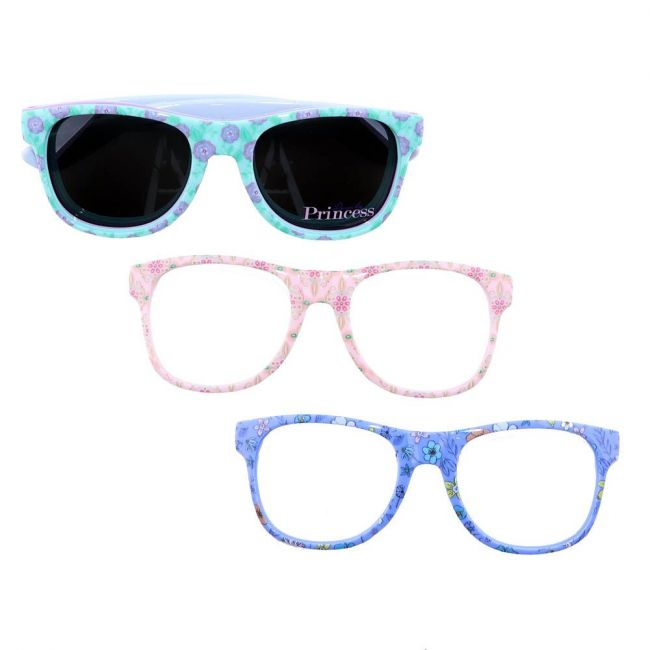 Disney - Princess Kids Interchangeable Frame Sunglasses Set