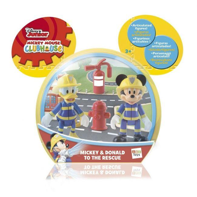 Disney Mickey & Donald To The Rescue, Figurine Toys
