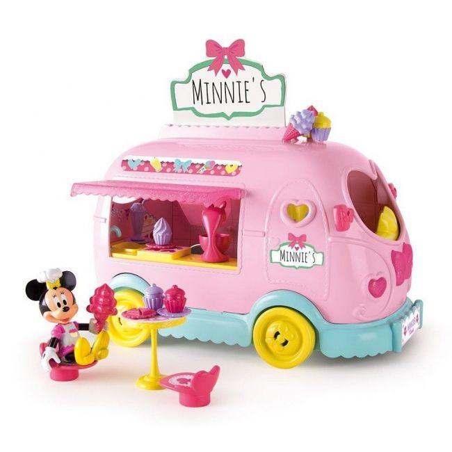 Disney Minnie Sweets 'N Candies Van, Figurine Toys
