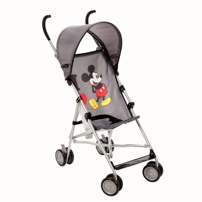 Disney Umbrella Stroller With Canopy - I love Mickey