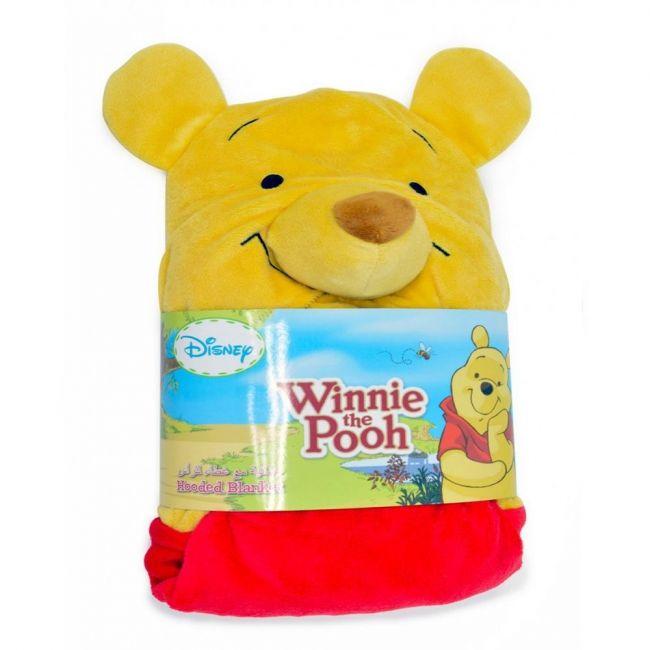 Disney Winnie The Pooh Kid's Hooded Blanket