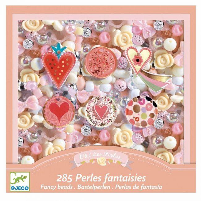 Djeco - Hearts Fancy Beads