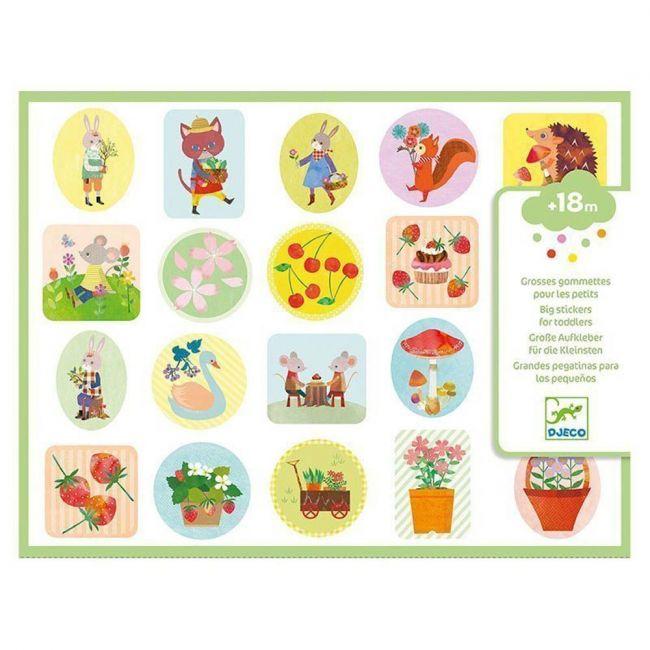 Djeco - The Garden Big Stickers
