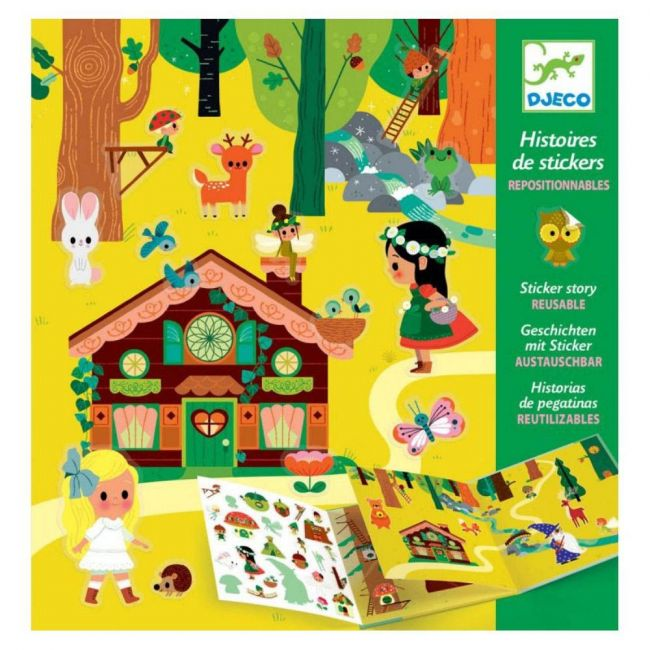 Djeco - The Magical Forest Stickers
