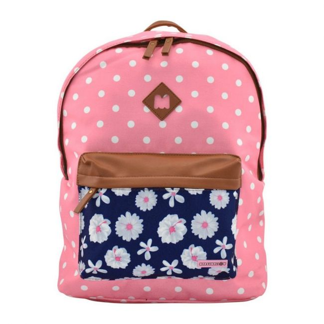 Dkt-Portugal Marshmallow Dots Stripes Backpack