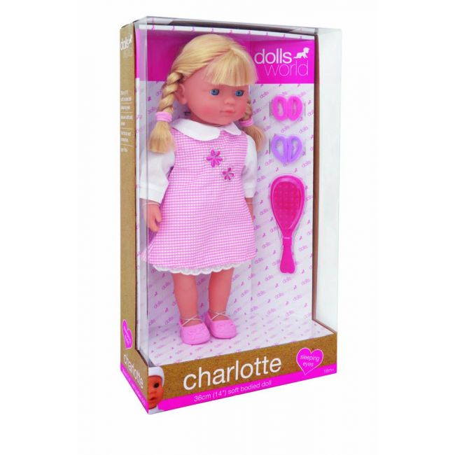 Dollsworld - Charlotte 36 Cms 14 Skirt With Collar