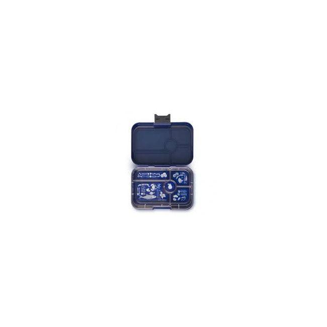 Yumbox Portfolio Blue Tapas 5 compartments Bento Lunch box