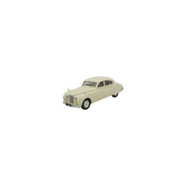 Oxford Jaguar Mk VIIM Ivory (Oxford) Toy Car