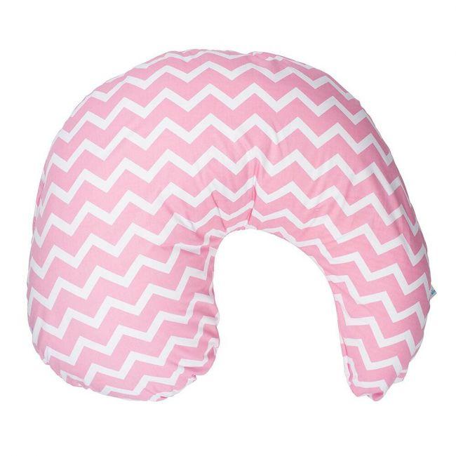 DrBrowns - Gia Pillow Cover Pink Chevron