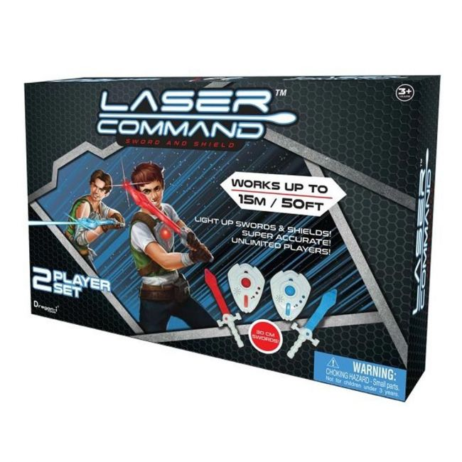 Dragon-I Toys-Laser Command- Sword And Shield