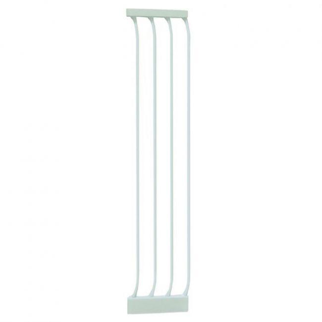 Dreambaby White 27cm Gate Extension 1m High