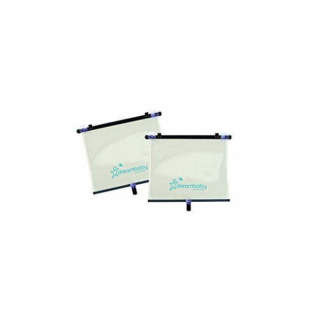 Dreambaby Extra Wide Car Window Shade - Adjustable 2 Pack
