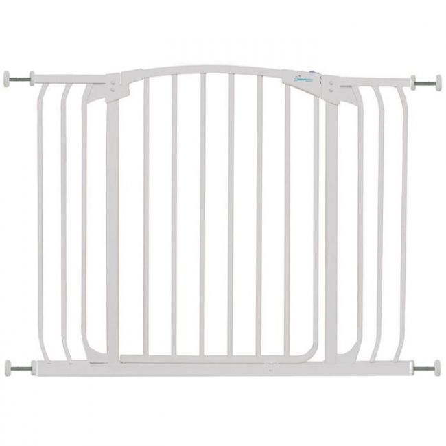 Dreambaby White Swing Closed Hallway Security Gate