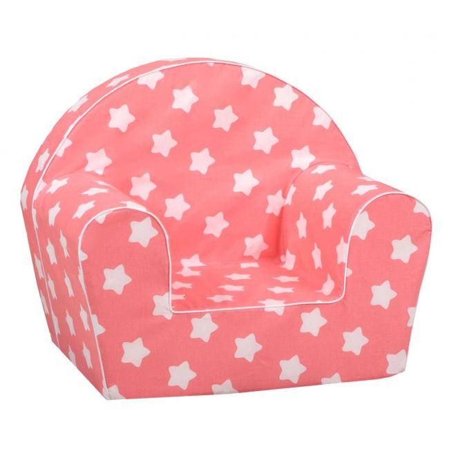 Delsit - Arm Chair Pink with Stars - Unicorns