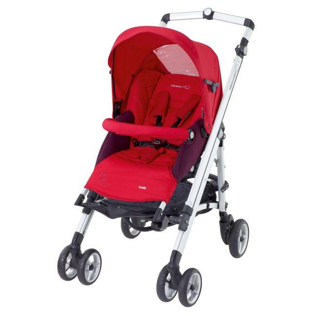 Bebe Confort Intense Red Loola Up Full Stroller