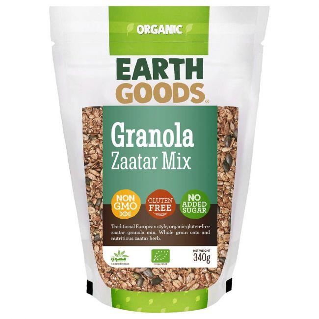 Earth Goods - Organic Gluten-Free Fruit Granola Mix - 340g