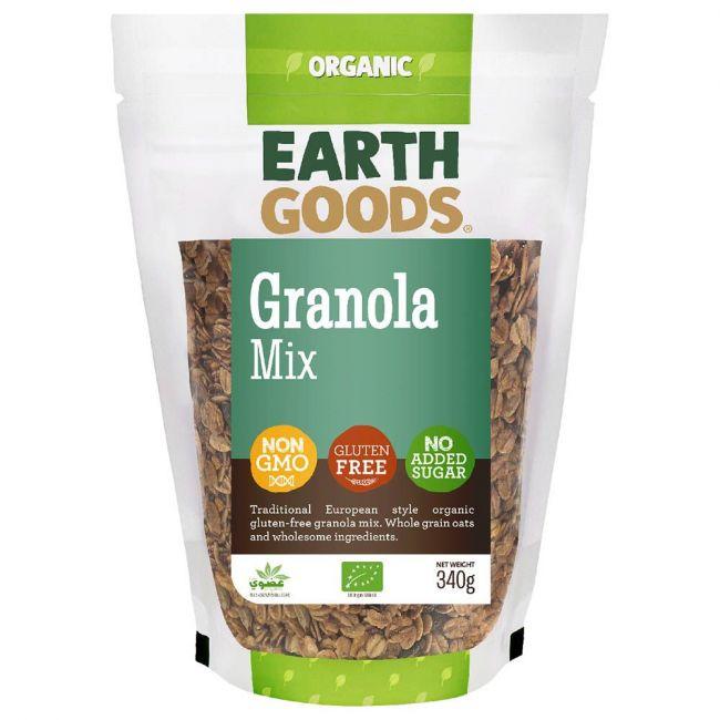 Earth Goods - Organic Gluten-Free Granola Mix - 340g