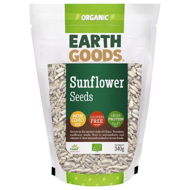 Earth Goods - Organic Sunflower Seeds - 340g
