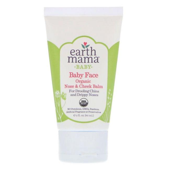 Earth Mama Baby Face Organic Nose & Cheek Balm - 60ml