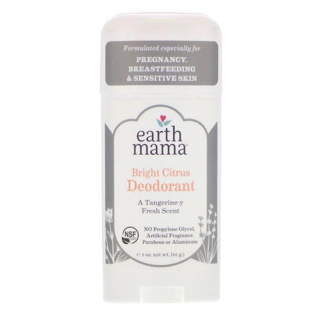 Earth Mama Bright Citrus Deodorant - 85g