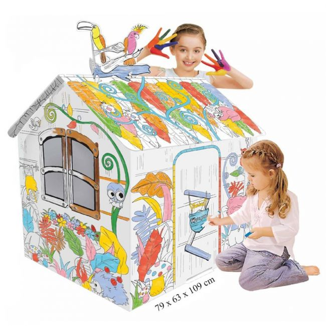 Eazy Kids - Diy Doodle Painting Jungle House
