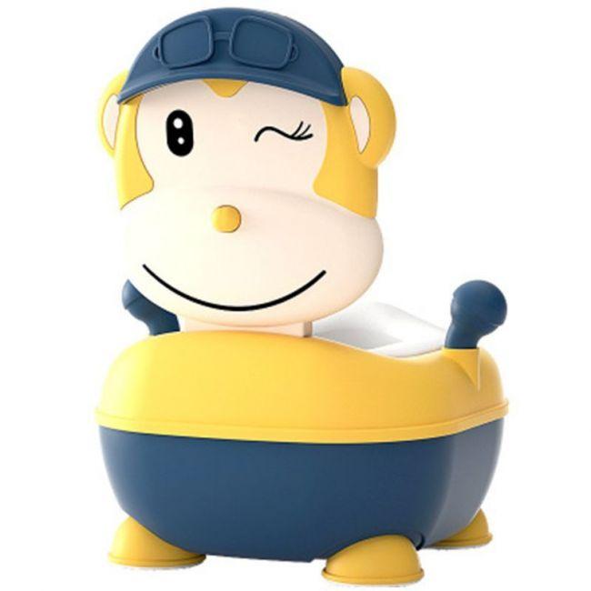 Eazy Kids - Monkey Potty - Yellow