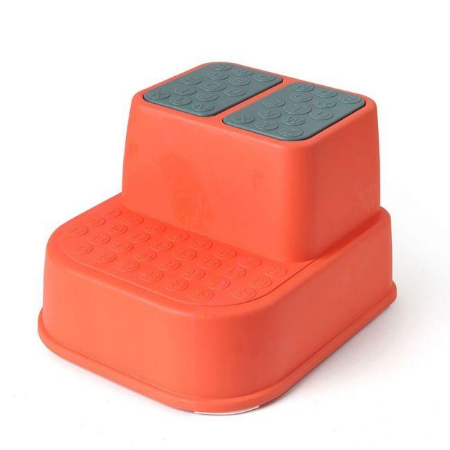 Eazy Kids - Step Stool - Orange