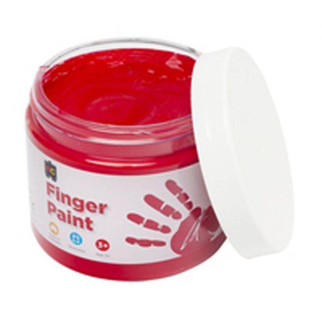 EC - Finger Paint 250 Ml Red