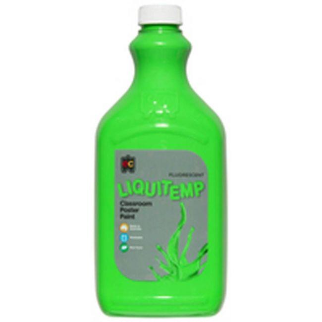 EC - Fluoro Liquitemp 2 Liter Green