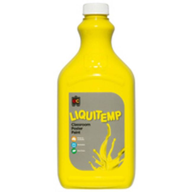 EC - Liquitemp Poster Paint 2 Liter Brilliant Yellow