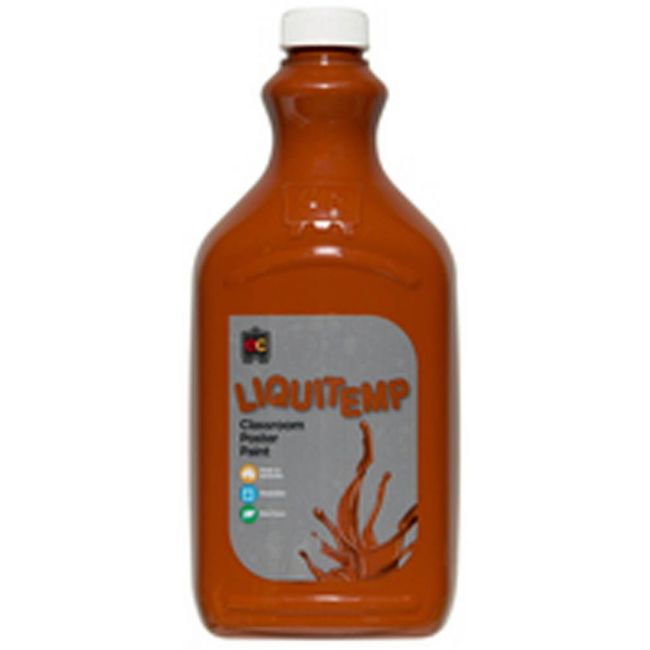 EC - Liquitemp Poster Paint 2 Liter Burnt Sienn