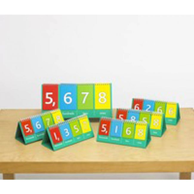 EC - Place Value Flip Charts Pack Of 10