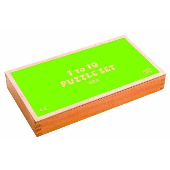 Edu Fun - 1 To 10 Puzzle Set English