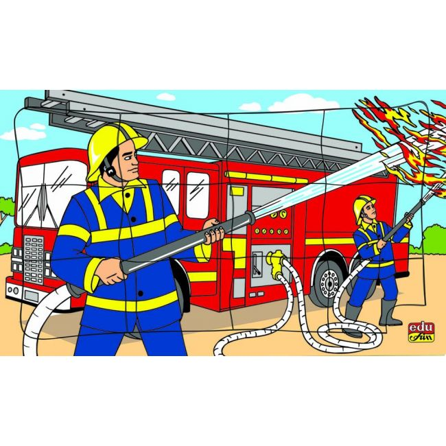 Edu Fun - I Want To Be Fire Fighter