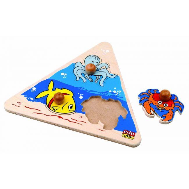 Edu Fun - Triangular Puzzle Sea World