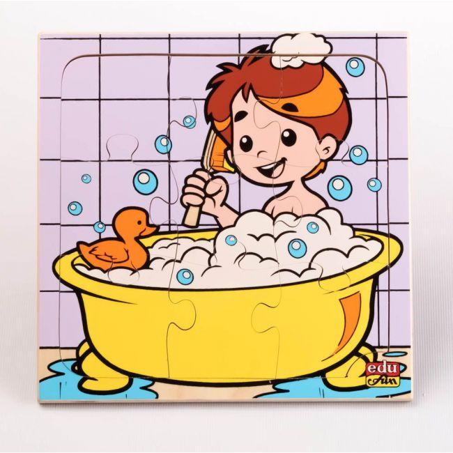 Edu Fun - What Are You Doing Taking A Bath