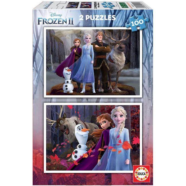 Educa - Puzzles Disney Frozen 2 X 100 Pcs