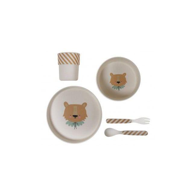 Eef Lillemor - Bamboo Eco Dinner Set Lion