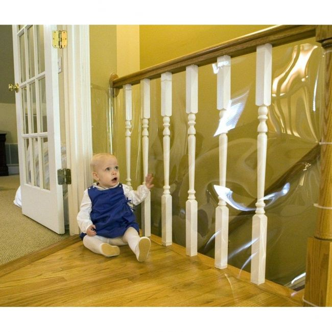 Cardinal Gates Child Safety Banister Shield 15 Roll