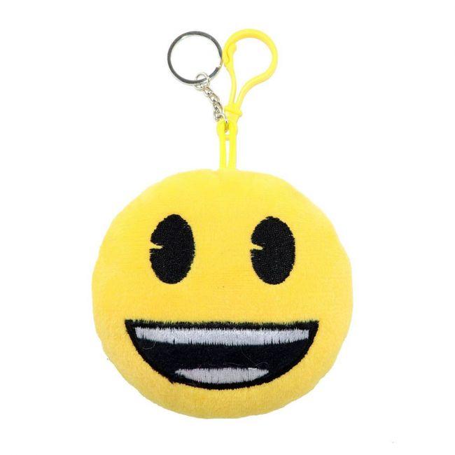 Emoji - Stuffed Toy Key Chain With Embroidery
