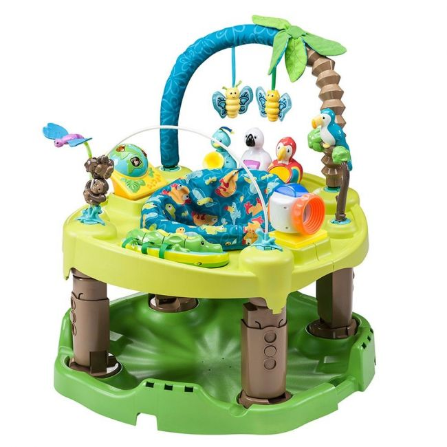 Evenflo ExerSaucer Triple Fun Jumper - Life in the Amazon