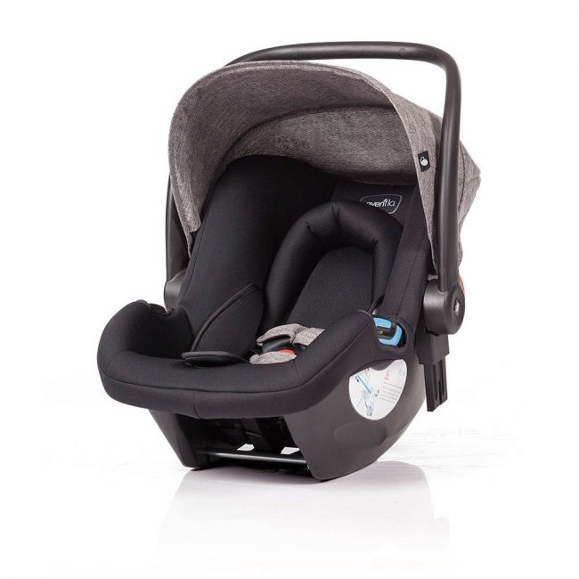 Evenflo Geo Infant carseat - Charcoal Grey