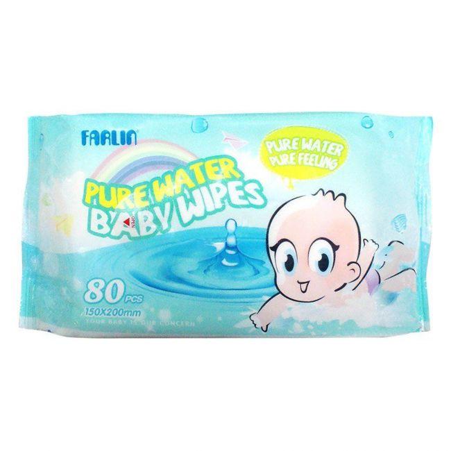 Farlin - Extra Thick Baby Wipes - 80 Pcs