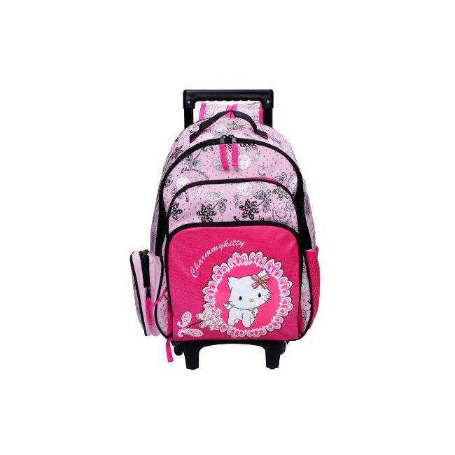 Disney Charmmy Kitty Print Trolley Backpack